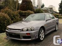 1998 Nissan R34 GTT Neo RB25DET 5MT (Manual swapped)