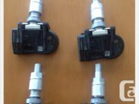 Set of 4 Nissan tire pressure monitors (tpms). Great to