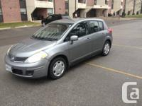 Nissan Versa 2007 with 198500KM asking for $3500. Car