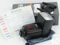 Nissin Di622 Mark II Digital TTL Shoe Mount Flash.  New