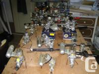I have 34 nitro engines for sale in dimensions from.19