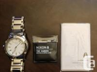 -Excellent condition Nixon Women's Stainless Steel