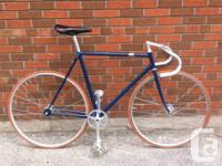 55 cm Giro Meccanico frame with new Nitto bar stem and