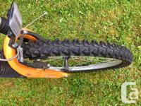"gently used 15"" frame Norco detonator with front shocks"