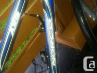 """NORCO aluminum frame 16"""" bicycle Needs front fork and"""