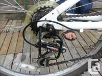 Suitable for ages 8 through 12. Shimano gears, very