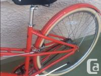 We bought this cruiser from Oak Bay Bikes for our