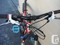 We currently have a Norco Fluid mountain bike on