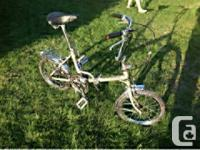 NORCO FOLDING BIKE, bicycle NEAR NEW. MADE IN JAPAN