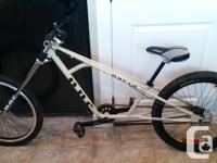 The adult sized bike is in great condition and includes