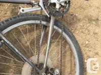 extra rear tire, bar ends, fender, new slick rear tire