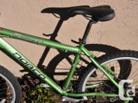Norco Scrambler 18.5 inch frame. 26 inch wheels, 21