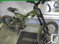 Great condition downhill  *   New Avid Elixer 1 brakes