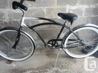 I am selling a Norco single speed cruiser bike. In very