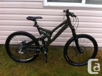 Army Eco-friendly 04 Norco 6, Fox back racing shock,
