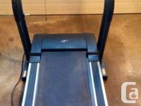 This NordicTrack C2000 treadmill is a heavy duty and