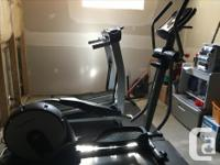 NordicTrack E5 si elliptical exerciser - Very good