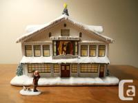 Ceramic Norman Rockwell Christmas Town Residence