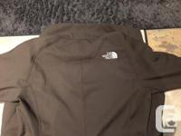 North Face TNF Apex Brown Lined Jacket For Sale.