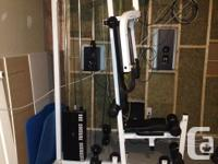 North Lights Flex Gym (Powder layer white colour).