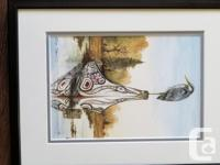 """Northwest Coast Indian"" watercolour images - Wolf &"