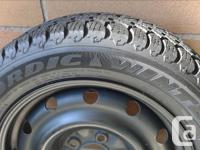 **GOOD YEAR** NORTIC WINTER TIRES 205/55R16 Radial