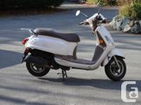 1987 Yamaha Riva 200cc red with sidecar 2006 E-Tom