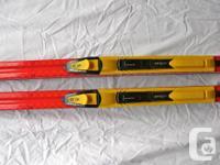 Atomic race/ glide skis, 190 centimeters. SNS pilot