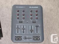 NUMARK DM 1001x - $20 (no power cord) M audio X-session