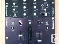 Selling my Numark DXM Pro DJ Battle Mixer because I am