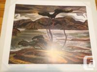 Group of 7 painters A. Jackson. Limited edition print