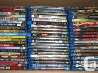 Different Blu ray just $5.00 each.  From my individual