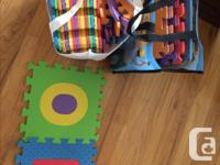 $10 toddler ride-on toy $20 Pop Out Alphabet Foam Play
