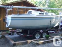 This 1977 S/V was bought in Alberta in 2010 and