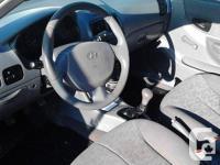 Make Hyundai Model Accent Year 2003 Colour Silver kms
