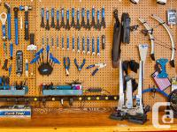 ----OAK BAY BIKES SERVICE DEPARTMENT----- -- Repairs by