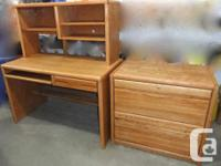 Great disorder. Workdesk $150. Submit cabinet