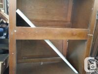 Oak Front and doors Uppers are Oak front, doors, and