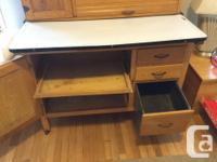 """""""Hudson Special """" antique hoosier (kitchen cabinet)"""