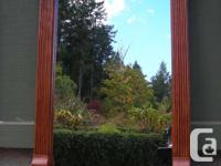 Hand Made Solid Oak Wall Mirror *inside glass-mirror is