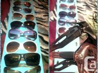 I GOT ALOT OF SHADES !!!  ALL PAIRS IN BETWEEN $5-$10.