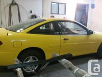 Make Chevrolet Model Cavalier Year 2004 Colour yellow