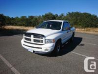 Make Dodge Model Ram 1500 Year 2004 Colour White kms