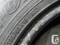 TOYO make HONDA CIVIC winter tires for sale. Was used