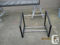 for sale a Hyloft multi-tire rack it adjust in width