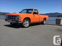 Make Chevrolet Year 1991 Colour Orange Trans Manual