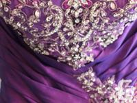 Purple Prom Dress for Sale Bought 2.5 years ago for