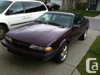 Make Pontiac Model Sunbird Colour Purple Trans Manual