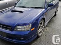 Make Subaru Colour Blue Trans Manual kms 95000 Great