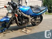 Make Suzuki Year 1993 kms 53939 Let me introduce you to